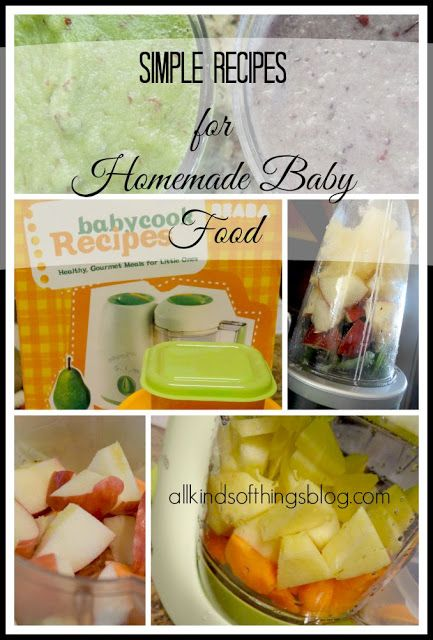 All Kinds of Things: Making Homemade Baby Food with the Beaba Baby Cook