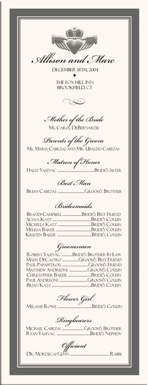 Best 25+ Wedding program samples ideas on Pinterest