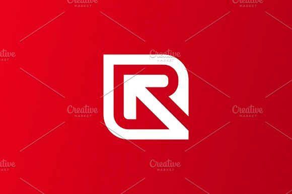 Research Letter R Logo by selmanaycom on @creativemarket