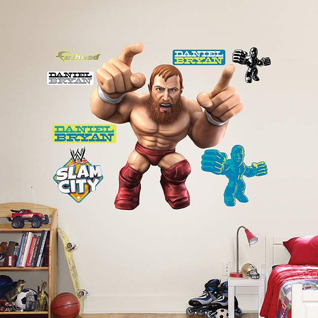 A WWE Bedroom Isnu0027t Complete Without A Wall Decal From Fathead. WWE  Posters, Stickers And All Other Decor Have Been Revolutionized By Our WWE  Wall Decals.