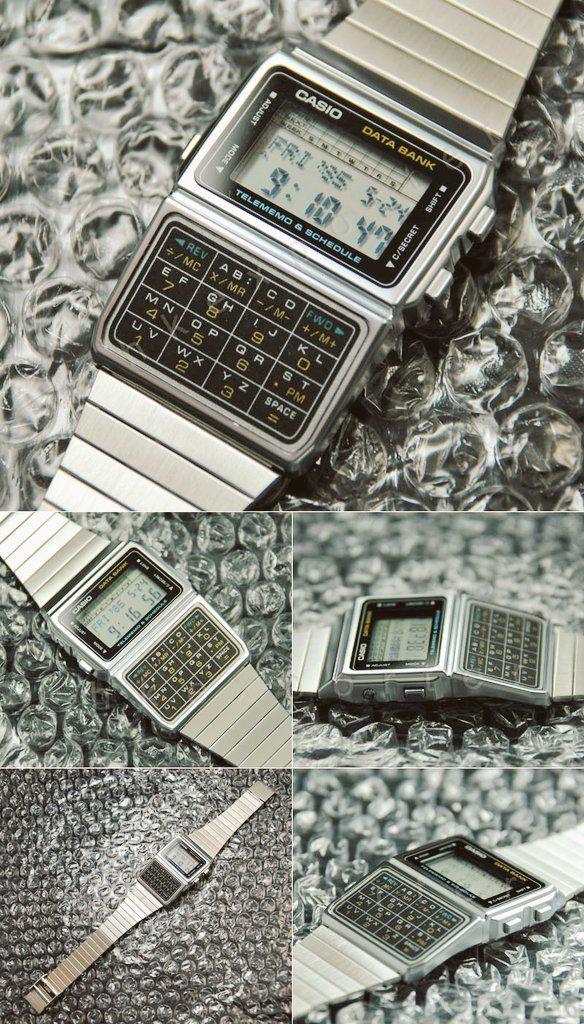 1980s Casio Databank watch