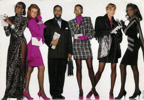 Patrick Kelly Fall 1989 ad campaign