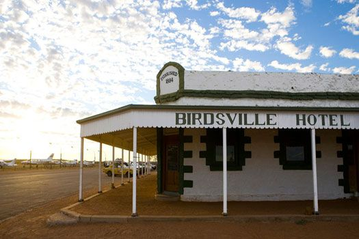 Had a beer at the Birdsville Hotel #Australia
