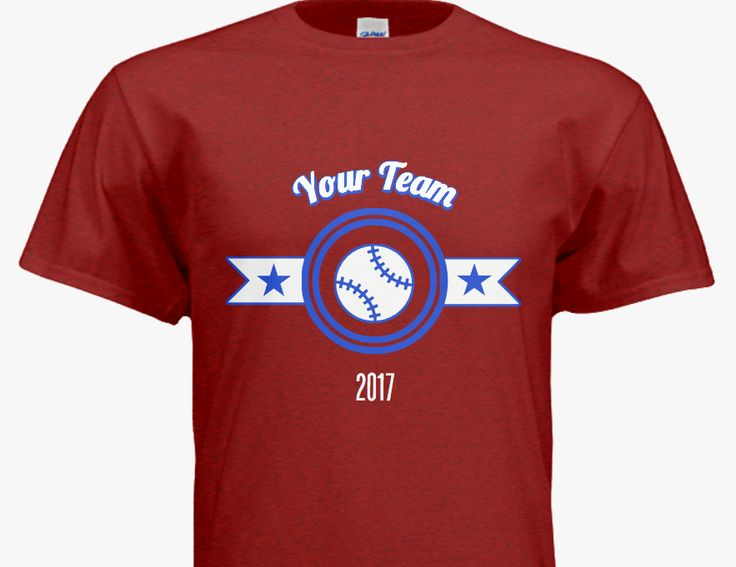 17 best images about baseball softball t shirts on for Custom t shirts fast
