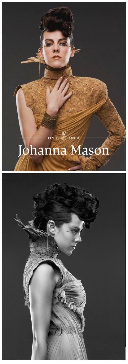 Jena Malone as Johanna Mason in 'Catching Fire' (2013). Costume Designer: Trish Summerville