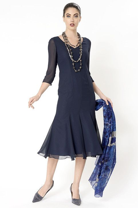 Navy Georgie Dress - destination weddings, mother of the bride, summer racing fashion, cruising fashion, corporate events, Melbourne Cup, smart  women who do lunch, Pia du Pradal Park Road and Brisbane Arcade, Brisbane City, online boutique