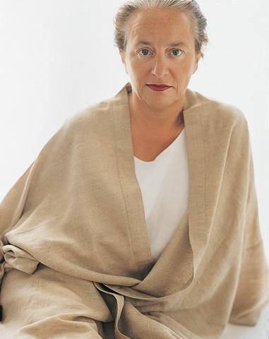 lidewij edelkoort - a beautiful woman in her 60's...