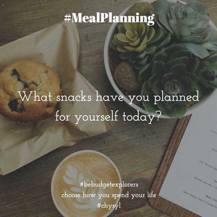 #mealplanning