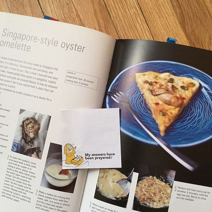 #BookmarkMonday: #Singapore oyster omelette and some #Pinoy laughs / guiltless reading