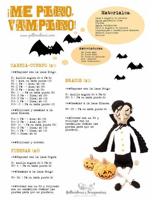 Amigurumi Vampire - FREE Crochet Pattern / Tutorial