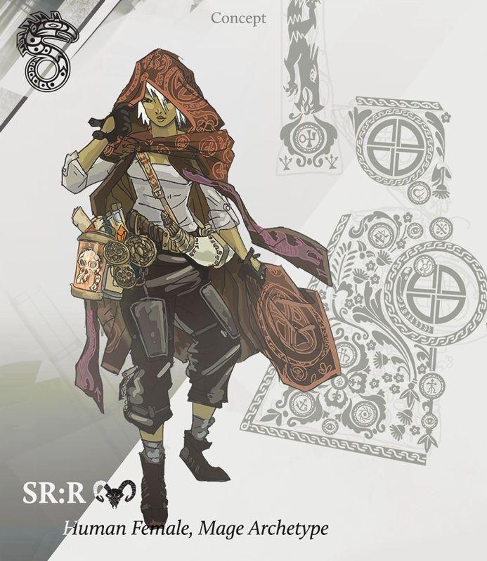 Shadowrun Online mage concept