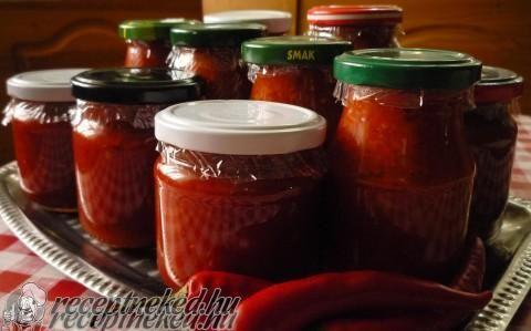 Chili krém recept fotóval