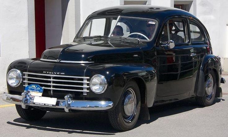 Volvo Typ:PV444E Jahrgang:1954 Anzahl Zylinder:4 Zylinder Hubraum in cm3:1414 cm3 PS:44 PS Gewicht:1060 kg Kilometerstand:83000 km Getriebe:Handschaltung Fahrzeugart:Limousine Anzahl Türen:2 Türen