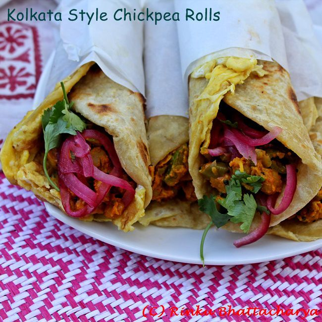 321 best bengali recipes images on pinterest cooking food kolkata style chickpea roll forumfinder Images