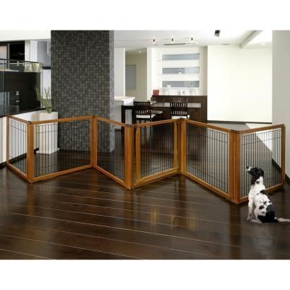The Richell Convertible 20 Inch Tall Pet Gate With Door In 4 Panel Or 6  Panel
