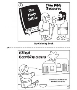 bible holy ible b the treasures 1 my coloring book blind bartimaeus based on luk
