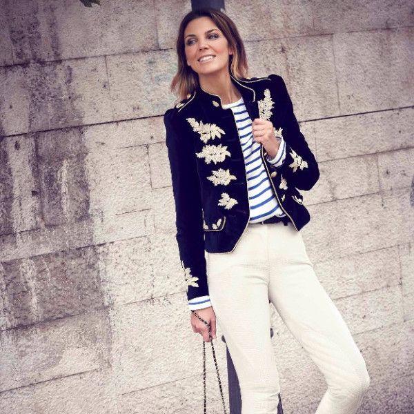 Nuestra embajadora Mar Flores perfecta con una chaqueta de #LaCondesa