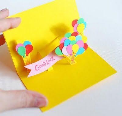 Como fazer um cartão para aniversário 3D | Revista Artesanato