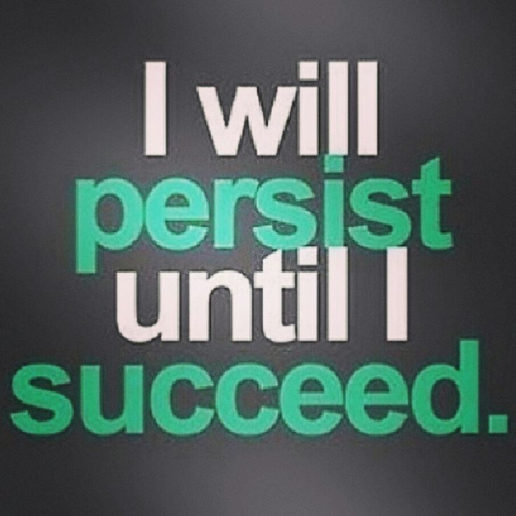 Persistence Motivational Quotes Teamwork: Persistence + Perseverance = Success