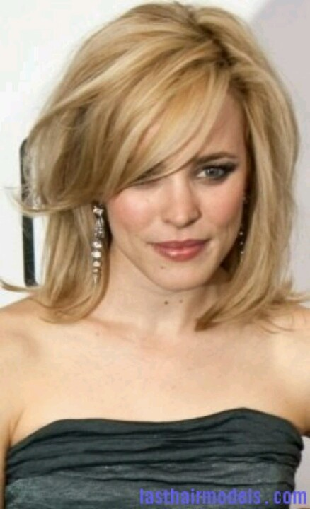 Medium Length Side Swept Bangs With Images Medium