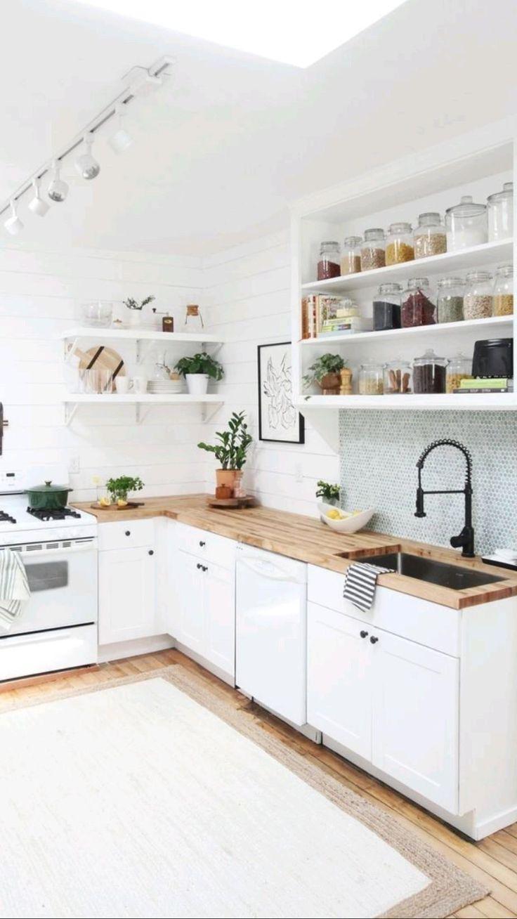 Home Decor Kitchen, Home Kitchens, Decorating Kitchen, Dream Kitchens, Cuisines Design, Home Design, Design Ideas, Design Layouts, Design Styles