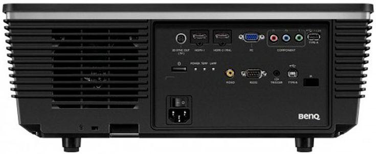 BenQ HT6050 DLP Projector - Rear View