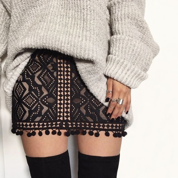 FOR LOVE AND LEMONS FLORENCE MINI SKIRT New! Retails for over $180+ For Love and Lemons Skirts