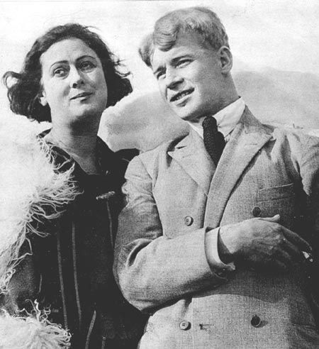 Айседора Дункан и Сергей Есенин