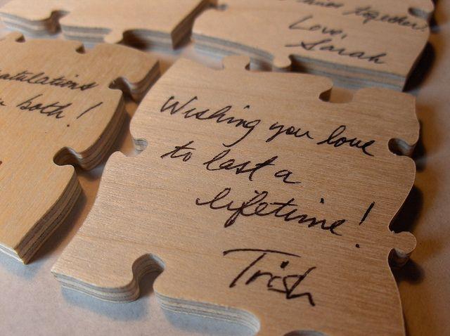 unique guest book idea | Guest Book Ideas | Flickr - Photo Sharing! #wedding