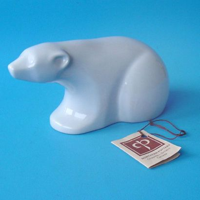 Polar Bear (1970) by Northern Pottery - Unknown