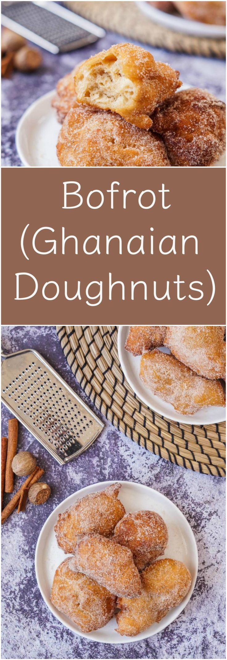 Review of the cookbook, Zoe's Ghana Kitchen by Zoe Adjonyoh. Plus a recipe for Bofrot (Puff Puff), a spiced Ghanaian doughnut.