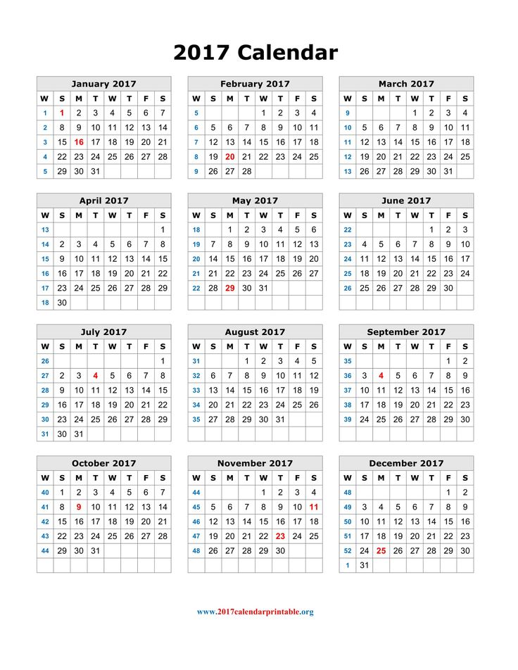 Fiscal Calendar  Us Fiscal Year Template Free Printable