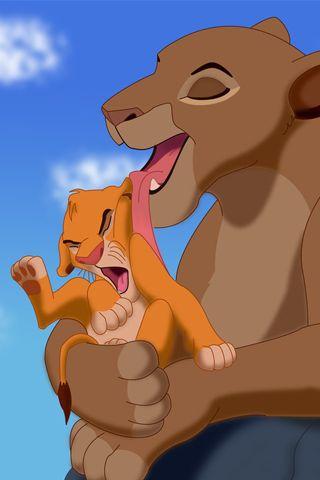 The Lion King Sarabi Simba Android Wallpaper HD