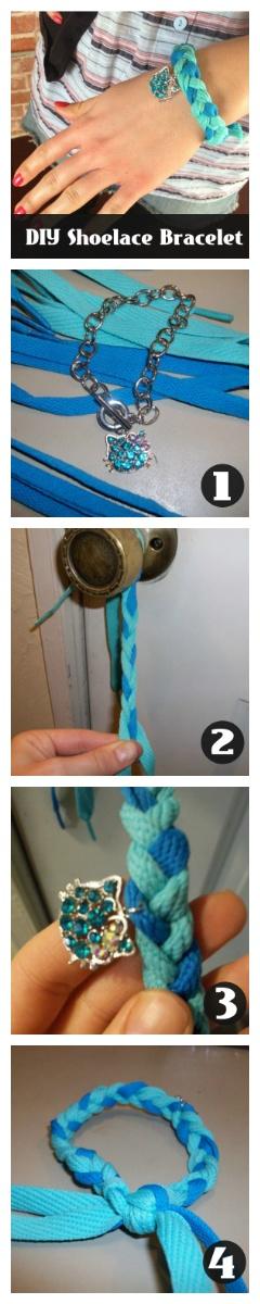 Make this super cute, super easy DIY Shoelace Bracelet. How to here: http://www.peta2.com/lifestyle/diy-shoelace-bracelet/?utm_campaign=0413%20DIY%20Shoelace%20Bracelet%20_source=peta2%20Pinterest_medium=Promo