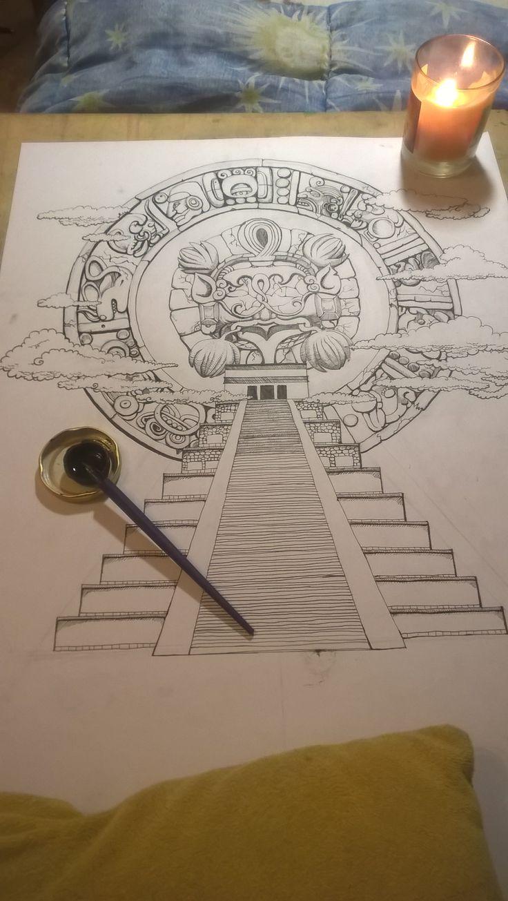 Inca & Aztec Tattoo Designs Gallery - inca tattoo designs #incatattoos #aztectattoos #incatattoodesigns #incatattooideas