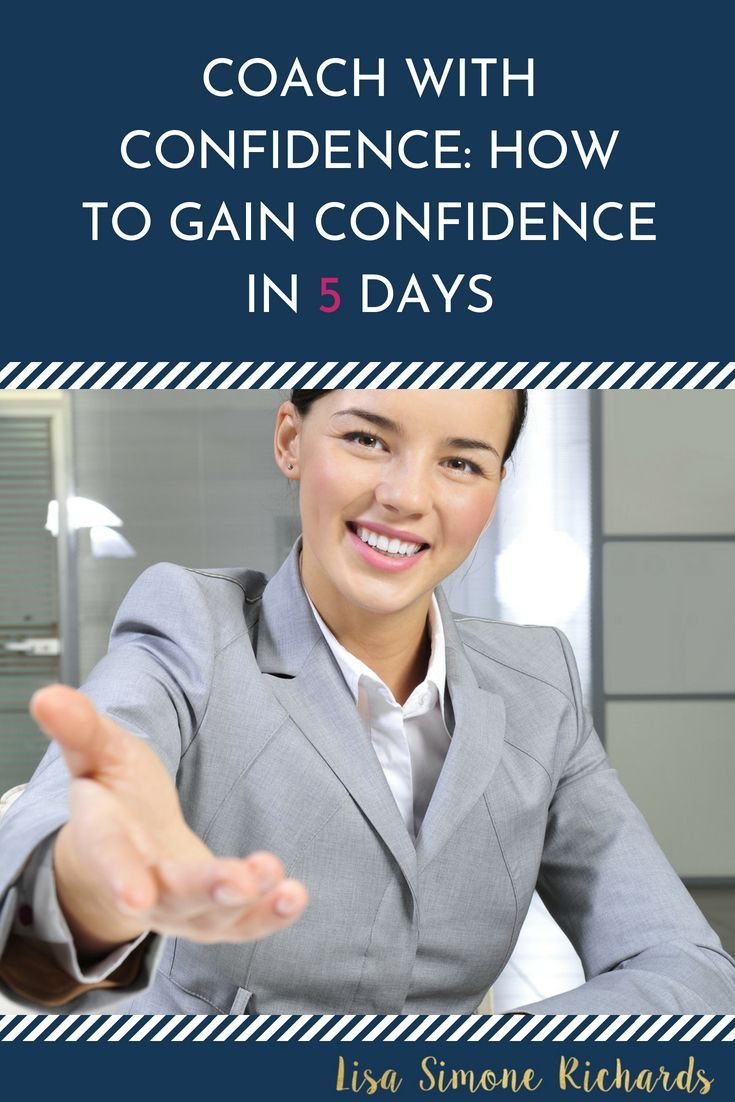 Coach with Confidence | How to become a coach | Coaching Tips |  Entrepreneur Tips