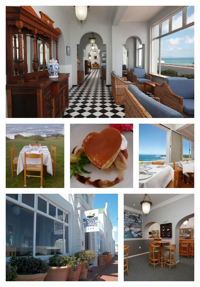 Windsor Hotel  Address: 49 Marine Drive, Hermanus  Tel: +27 28 312 3727 Email: info@windsorhotel.co.za
