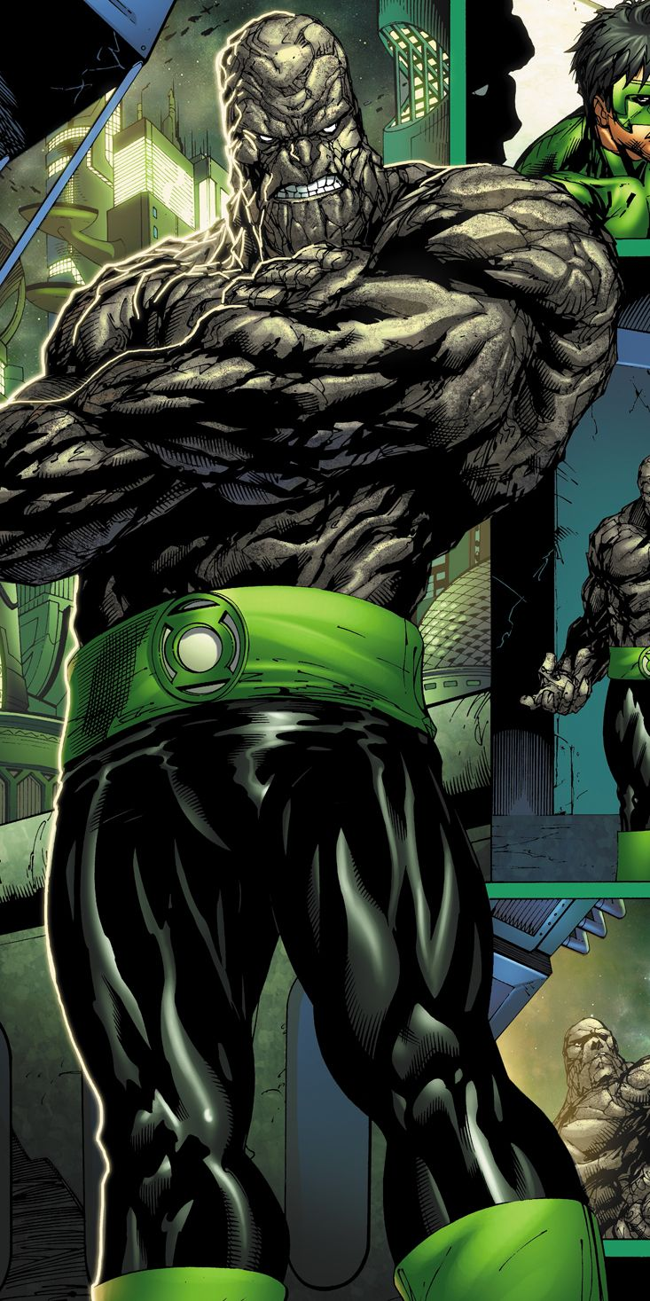 Green Lantern Hannu