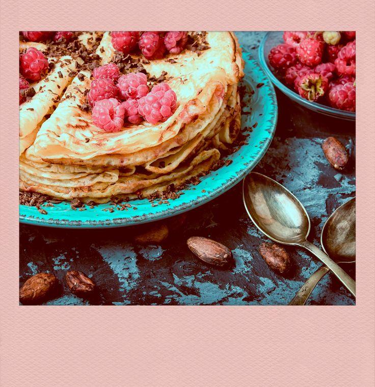 #Pancakes with #Berries. PolaroidFx #Polaroid #Instant #Food #Sugar #Sweet #Cook #Recipe #Fruit #Delicious #Yummy