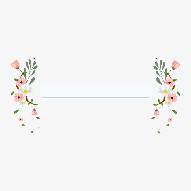 Invitations Decorative Elements, Wedding Invitations, Flowers, Vector PNG and Vector with Transparent Background for Free Download