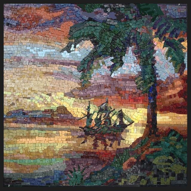 12 best images about mosaic beach on pinterest for Mosaic landscape design