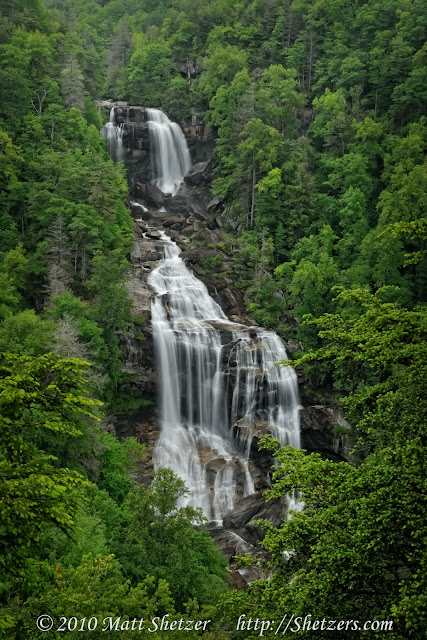 Whitewater Falls- Near Highlands, NC