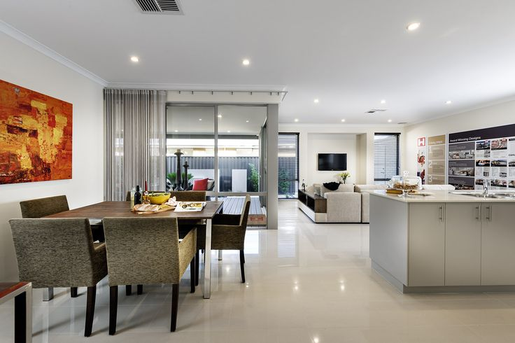 Dining - Aspire Display Home - Homebuyers Centre - Aveley, WA Australia