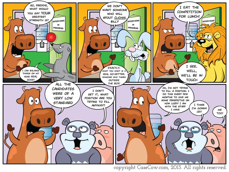 CaseCow.com | Awesome Boss! #corporate #office #webcomics #funny #humor