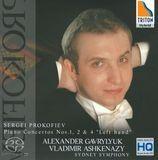 "Sergei Prokofiev: Piano Concertos Nos. 1, 2 & 4 ""Left Hand"" [Super Audio Hybrid CD]"