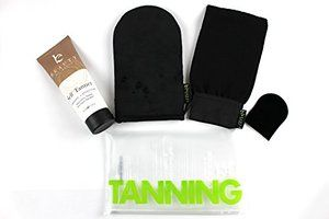 If you enter this giveaway, like our page!  Self Tanner & Tanning Application Kit - Bundle of Sunless Tanning Lotion Made With Natural & Organic Ingredients, Exfoliation Mitt, Body and Face Applicator Glove for a Professional Self Tan
