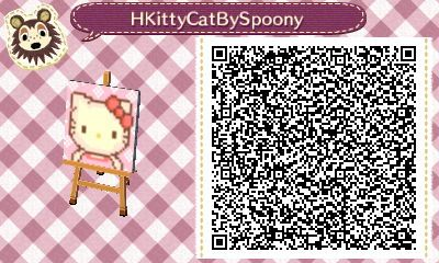 spoonybakescake: I fixed my Hello Kitty design, so I decided to share the QR code! Feel free to use it =^..^=