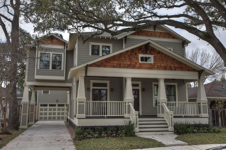25 best ideas about bungalow exterior on pinterest for Craftsman home builders houston