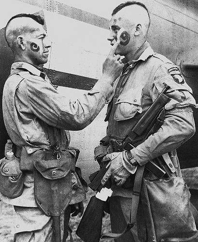 Paratroopers Prepare to Jump Into Normandy