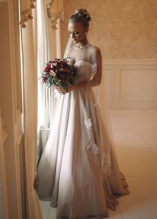 Teen mom star maci bookout and taylor mckinney 39 s wedding for Chelsea houska wedding dress designer